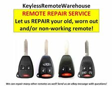 Dodge Jeep Chrysler FCC ID: OHT692427AA & KOBDT04A remote REPAIR service