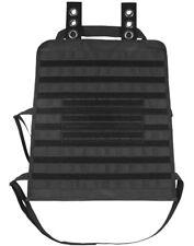 Car Seat Back Organizer Tactical Vehicle Panel Molle Loop Black Fox 54-331