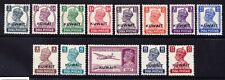 KUWAIT 1945 GVI SG52/63 set of 13 of India overprinted - mounted mint. Cat £80