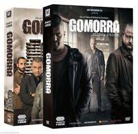2 cofanetti sigil serie Gomorra stagione 1+stagione 2 completa 8 dvd+locandina 3
