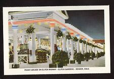 Penny Arcade, Elitch Gardens--1991 American Express Postcard--Denver, Colorado