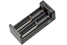 Xtar Ladegerät MC2 für Li-Ion Akkus 2-Schacht USB-Ladegerät - 1A Ladestrom