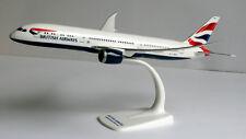 British Airways Boeing 787-9 1:200 Herpa Snap-Fit 611572 Dreamliner Modell B787