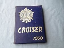 VINTAGE BOOK YEARBOOK ANNUAL THE CRUISER DEL MAR COLLEGE 1950 CORPUS CHRISTI TX