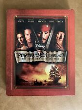 PIRATES OF THE CARIBBEAN CURSE OF THE BLACK PEARL Blu Ray Steelbook