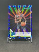 2019-20 Donruss De'Andre Hunter #204 RC Rated Rookie Press Proof Blue Laser #/49