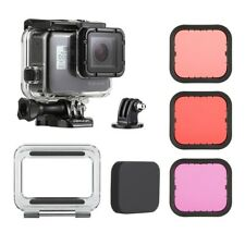Underwater Waterproof Housing Case Diving Color Filter for GoPro Hero5 6 Black