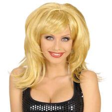 BLONDE PERÜCKE Flirty Karneval Perrücke blond lang Wig