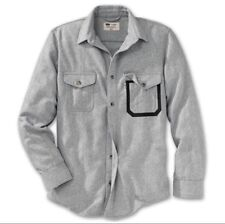LEVI STRAUSS x FILSON GRAY WOOL FISHING SHIRT XL NEW with TAGS