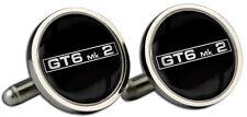 TRIUMPH GT6 MK2 GEMELLI CON LOGO E SCATOLA REGALO