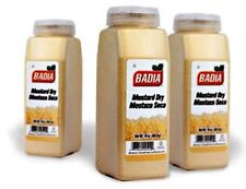 BADIA - Dry Mustard Powder 16 oz / 1 lb (6 PACK) - Mostaza Seca Molida