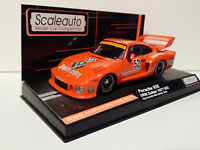 Slot Car Scalextric Scaleauto SC-6029 Porsche 935 DRM Zolder 1977 Jägermeister