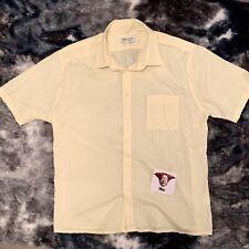 Yves Saint Laurent Shirt Vintage XL Yellow