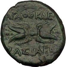 Syracuse Agathocles King of Sicily 295BC Artemis Thunderbolt Greek Coin i53606