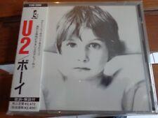 U2 - BOY - CD ORIGINAL PRESS JAPAN - OBI + INSERT