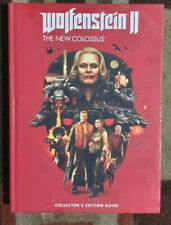 Wolfenstein II The New Colossus Collector's Edition Strategy Guide + Lithograph