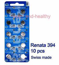 Renata SR936SW 394 Silver Oxide coin Battery x 10 pcs FREE Post