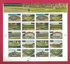 3510 - 3519 US ...Baseball Playing Fields.. .Never Hinged Sheet issued year 2001