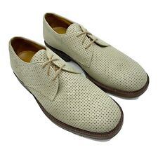Cole Haan Country Men's Size 12D Beige Leather Oxford Lace up Shoes 2713