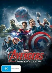 Avengers - Age Of Ultron DVD (PAL, 2015) BRAND NEW & SEALED - Free post