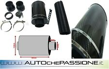 Kit aspirazione Performance Kit Simil Cda carbon look filtro aria universale