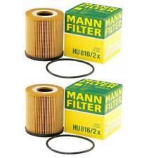 For BMW Mini Cooper R53 R52 2003-2008 2PCS Oil Filters MANN HU816/2X 11427512446
