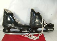 Men's Tour CDN Ice Hockey Skates 60 Series XL 25 Black Size 12