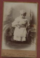 Wrexham. D J Thomas. Central Arcade. Child  cabinet photograph qd308