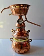 Gebrauchte 2-Liter Alquitara mit praktischem Festsieb Hydrolate - Destille 2L