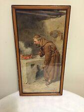 Edouardo Vitali 1890 Watercolor Painting  Italy Florence II Duomo Italian Artist