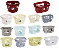 Wham Plastic Large Laundry Basket Hipster Washing Clothes Linen Storage Basket