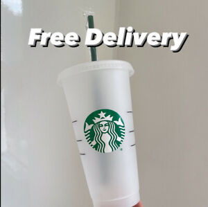 *NEW* Starbucks Venti Reusable Iced Cold Coffee Cup - SAME DAY DISPATCH