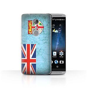 STUFF4 Case/Cover for ZTE Axon 7/Axon 2/Oceania Flag/Fiji/Fijian