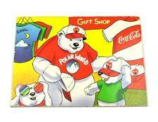 Coca-Cola Coke USA Kühlschrankmagnet Fridge Magnet - Eisbären Mama mit Kinder