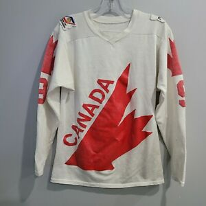 Rare Vintage 70s Canada Cup Coupe 76 Bobby Hull 9 Hockey Jersey Mens M
