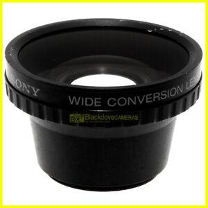 Aggiuntivo wide conversion lens Sony VCL-0637H per obiettivi con filtri 37mm