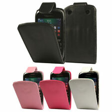 Synthetic Leather Mobile Phone Flip Cases for BlackBerry