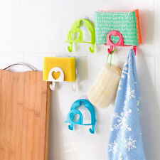 NEW Sponge Holder Suction Cup Home Kitchen Tools For Cloth Storage Rack Gadget