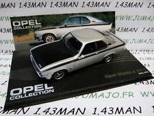 voiture 1/43 IXO eagle moss OPEL collection n°17 : MANTA A GT/E 1974/1975