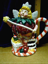Department 56 Fairy Christmas Pitcher
