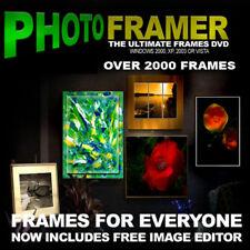 PHOTO FRAMES + FREE SOFTWARE  2000 FRAMES + EXTRAS
