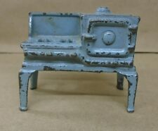 Vintage 1930's toy arcade gas stove with oven cast iron