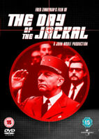 The Day of the Jackal DVD (2010) Edward Fox, Zinnemann (DIR) cert 15 ***NEW***