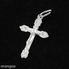 Kreuz Anhänger Echtschmuck 925 Silber