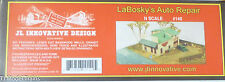 JL Innovative Design N #140 LaBosky's Auto Repair (Building Kit) 1:160th Scale