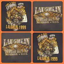 VTG 90's ~ 1999 Harley Davidson Motorcycle Biker Run ~ Laughlin NV XL T-shirt