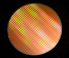 Silicon Wafer 8 inch, Quick Logic 7100 series Eclipse Plus FPGA - circa 2008