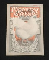 "MAY 1925 ""EVERYBODY'S POULTRY MAGAZINE"" CHICKEN HENS ROOSTER FARMER EGG VG+"