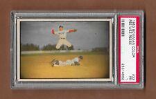 1953 Bowman Color #33 Pee Wee Reese Dodgers HOF PSA 1