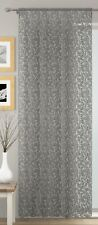 WILLOW VOILE CURTAIN PANEL (1),LACE EFFECT NET CURTAINS,SLOT TOP,3 GREAT COLOURS